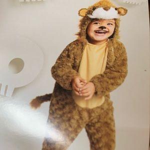 Adorable lion costume 4/5t